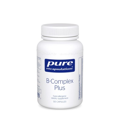 B-Complex Plus:    Assists in proper functioning of the nervous system