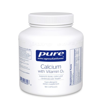 Calcium with Vitamin D:    Highly absorbable form of calcium to reduce risk of osteoporosis