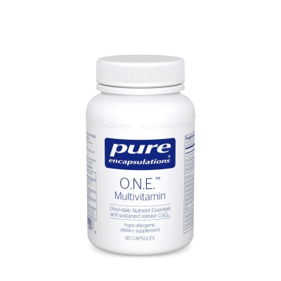 O.N.E. Multi- The  absolute best adult one-a-day supplement.