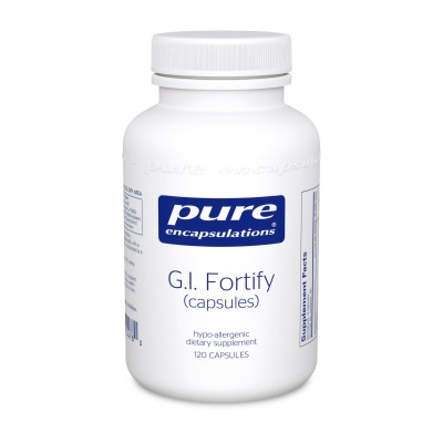 G.I.Fortify:    Bowel regularity and detoxification