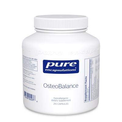 Osteobalance:    Comprehensive osteoporosis support formula