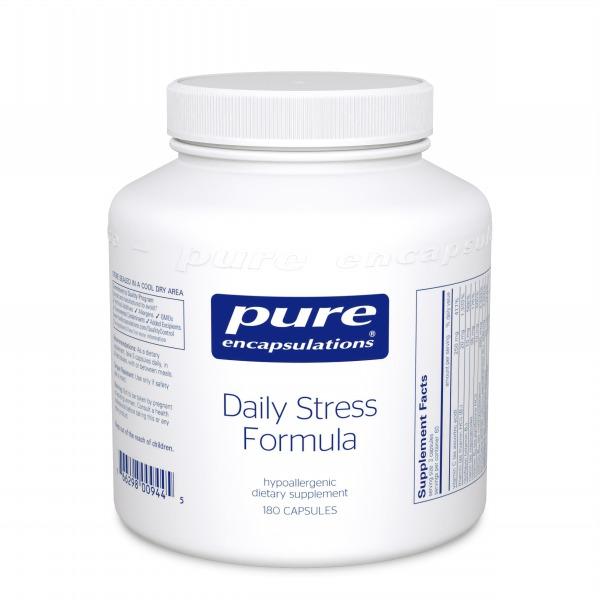 Daily Stress Formula:    Enhanced stress defense formula