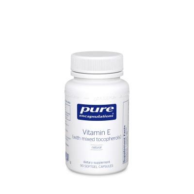 Vitamin E- Powerful antioxidant protection especially for the cardiovascular system